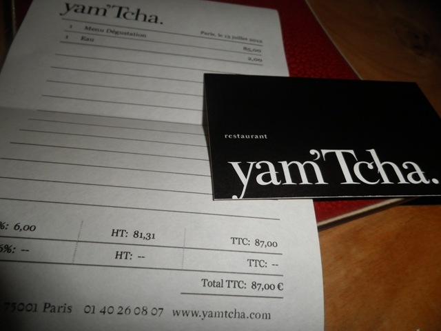 Yam tcha paris observaci n gastron mica 2 for Cocina vanguardia definicion