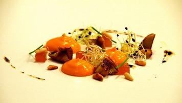 Juan Carlos Trujillo. Foto receta. Crema de tomates ahumados